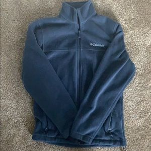 Blue Columbia Fleece Pull-over size small
